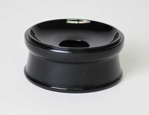 "Black Round Base for No. 2.8 (3.5"" Diameter) Bell"