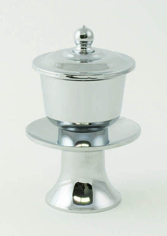 Chrome Water Cup with Removable Metal Insert