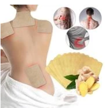 Lymphatic Detox Healing Ginger Patches