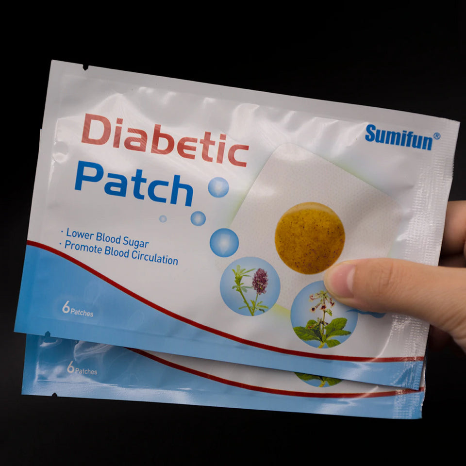 Natural Herbal Diabetic Patches 30 Pcs - Engineracing