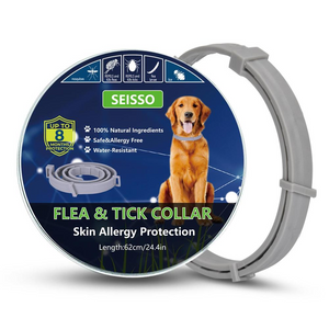 Flea and Tick Collar For Dog 8 Month Protection Pro Guard SEISSO US STOCK USPS