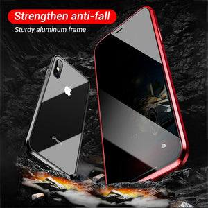Anti-peep Magnetic Phone Case Double Side - Engineracing