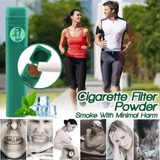 Cigarette Filter Powder detox lungs for heavy smokers