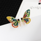 Colorful Butterfly Nail Earrings - Engineracing