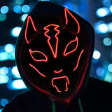 Fox Full Face Neon Mask - Engineracing