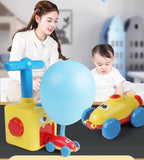 Inertial Power Balloon Car Toys for Children Puzzle Fun kids toys car Education Science Experiment Toy for Children Gift Tiktok