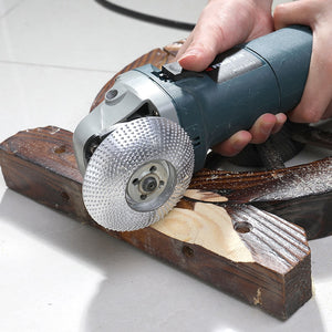 Wood Grinding Wheel Angle Grinder Disc Wood Carving Sanding Abrasive Tool For Angle Tungsten Carbide Coating Bore Shaping