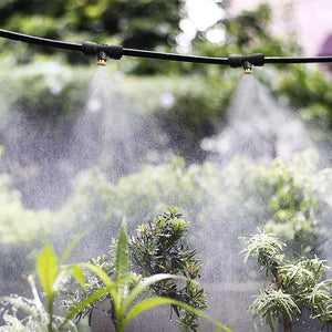 Outdoor Misting Cooling System for Garden Patio Waterring Irrigation Mister Line System Caliber Garden Watering System