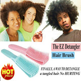 The EZ Detangler Hair Brush Comb Anti-Static Scalp Comb Hair Brush Styling Tools