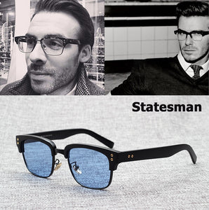 JackJad 2019 New Fashion The Statesman Beckham Sunglasses Eyewear Frame Vintage Brand Design Myopia Optical Oculos De Grau Sol