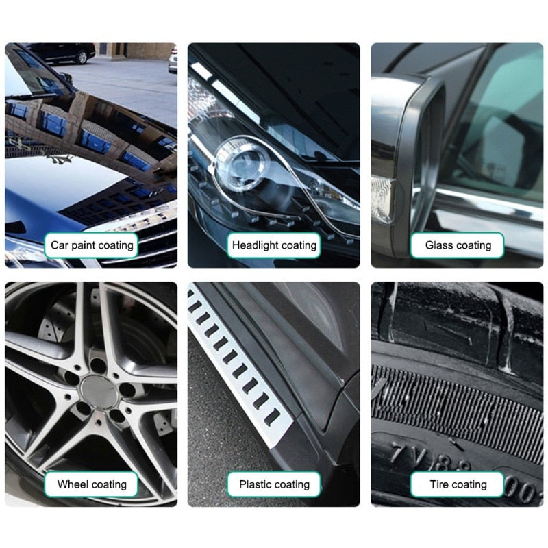 Car Repellent Ceramic Coating Nano Glass Plated Crystal Liquid Hydrophobic Coating Waterproof Agent