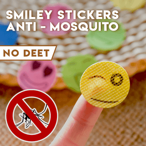 Smiley Anti-Mosquito Stickers - Engineracing
