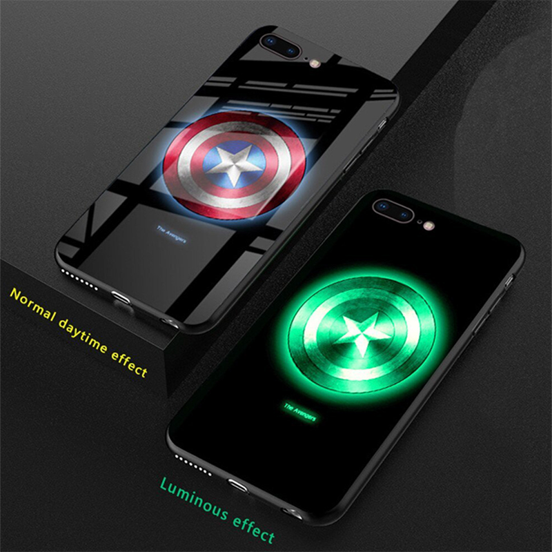 Superhero Induction Light Phone Case - Engineracing