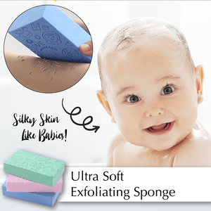 Ultra Soft Exfoliating Sponge - Engineracing