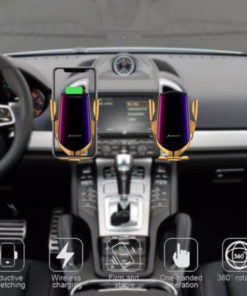 Wireless Automatic Sensor Car Phone Holder Charger - Engineracing