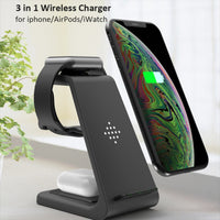Ultimate All-In-One Wireless Charger For iPhone X/11/11Pro AirPods Apple Watch