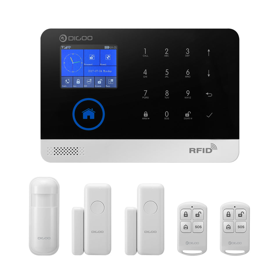 Digoo DG-HOSA Wireless DIY Smart Home Security Alarm System Kit GSM&WIFI