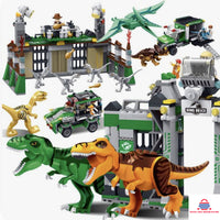 FIGURES DIY BRICKS BLOCKS DINOSAURS KIDS TOYS GIFTS