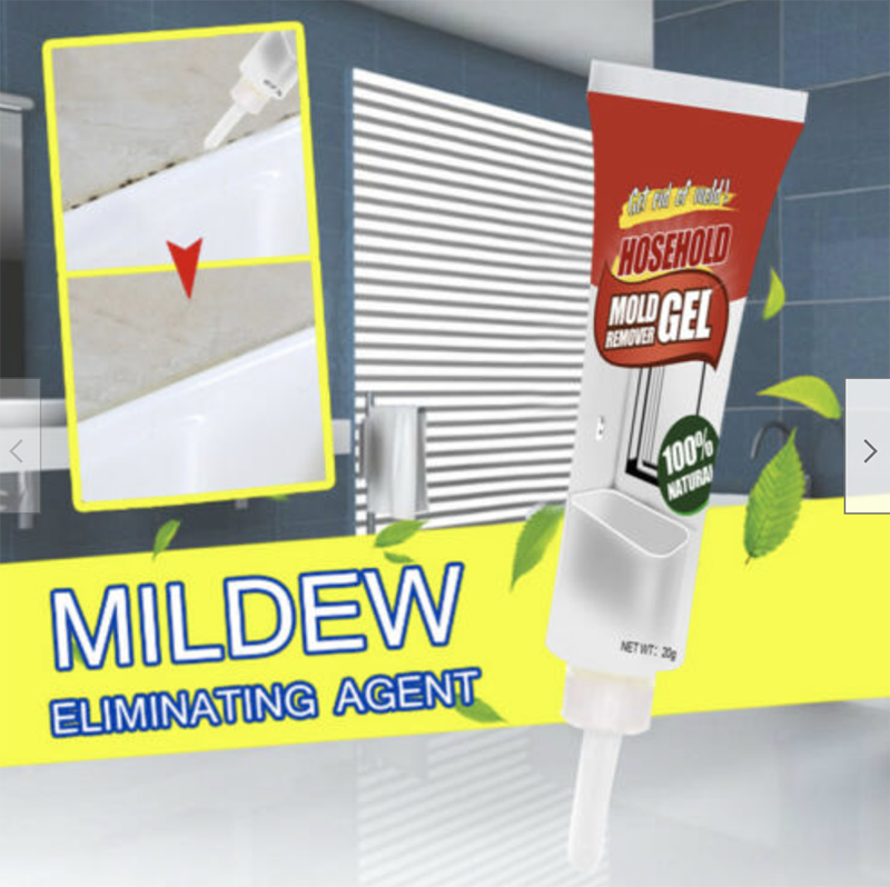 Mintiml Household Mold Remover Gel Mildew Removal Gel