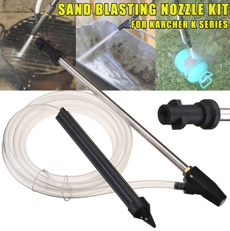 High Pressure Wet Sand Washer Blasting Kit - Engineracing
