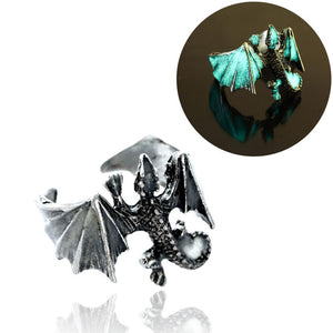 Cool Wings Dragon Ring Glow In Dark - Engineracing