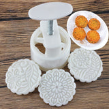 Cookie Press Moon Cake Mold 16Pcs - Engineracing