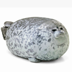Chubby Seal Pillow