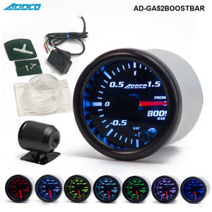 Turbo Boost Gauge Meter With Sensor and Holder - Engineracing