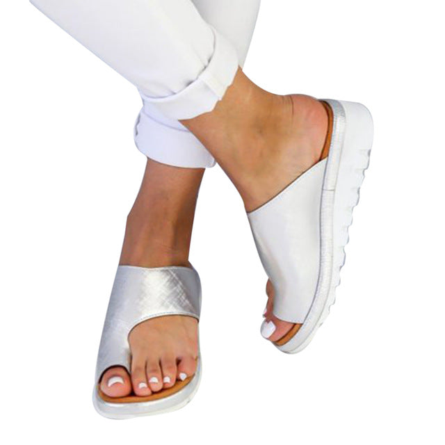 Women Comfy Big Toe Bunion Corrector Sandal Shoes - Engineracing