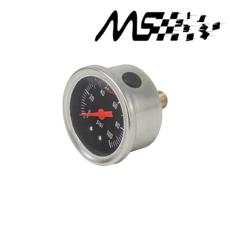 Fuel Pressure Regulator gauge 0-100 PSI - Engineracing
