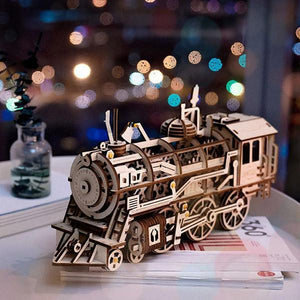 THE TRAIN EXPRESS DIY BUILDING KIT - Engineracing