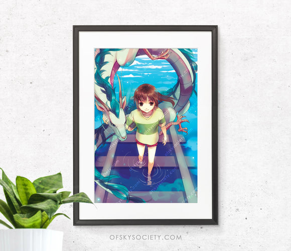 Studio Ghibli: Spirited Away - Print