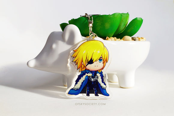 Three Houses - Dimitri Keychain Charm