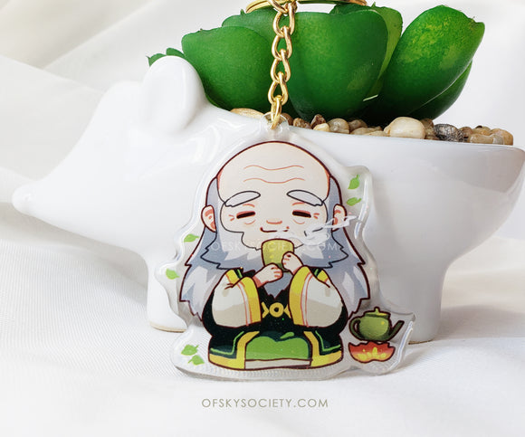 Uncle Iroh - Avatar the Last Air Bender Keychain Charm