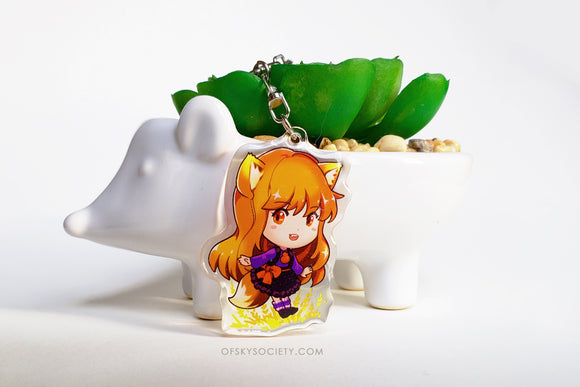 Spice and Wolf - Horo Keychain Charm