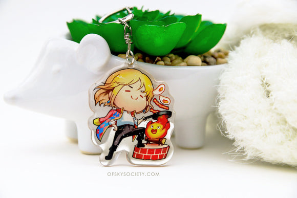 Howl's Moving Castle, Keychain Charm