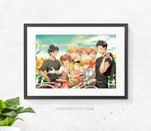 Ouran High School Print