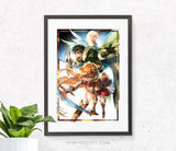 Rising of the Shield Hero Print