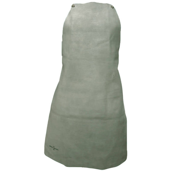 Chrome Leather Bib Apron