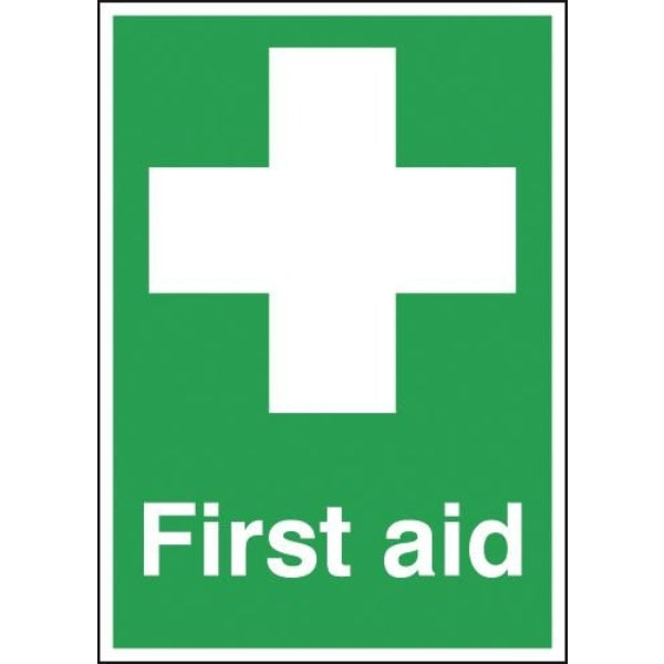 First Aid Sign