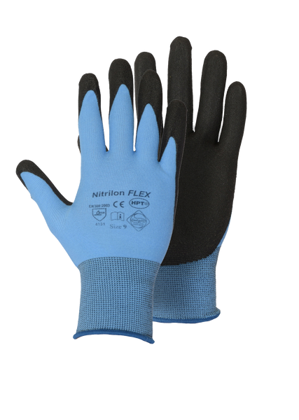 Foam PVC Palm Coated Glove
