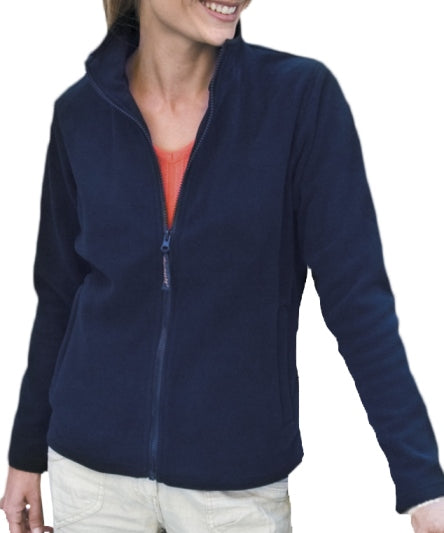 Ladies Full Zip Microfleece