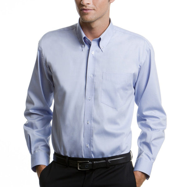 Corporate Long Sleeve Oxford Shirt
