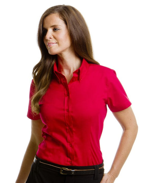 Ladies Corporate Short Sleeve Oxford Blouse