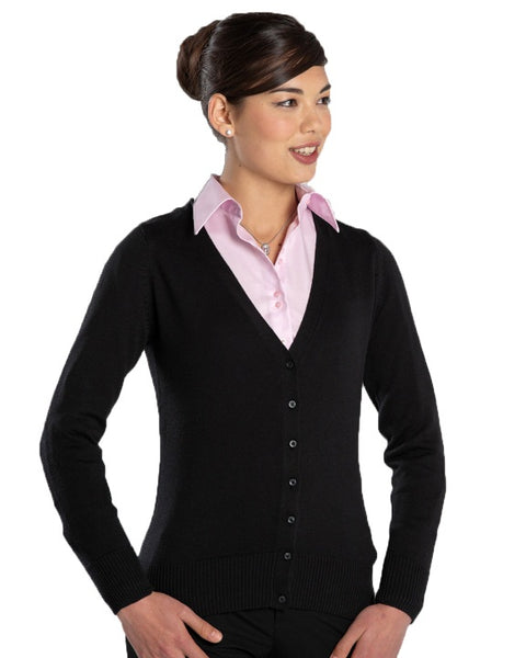 Ladies Russell V-Neck Cardigan