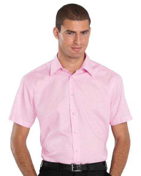 Tailored Short Sleeve Non-Iron Shirt