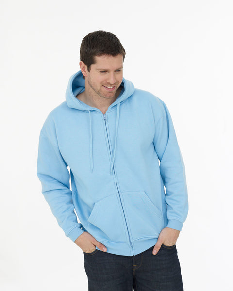 Classic Full Zip Hooded Sweatshirt