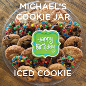 Happy Birthday Iced Cookie Add On