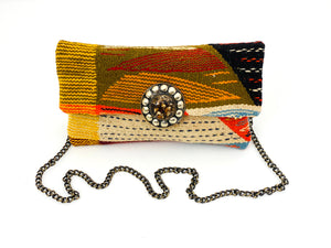 RETRO PATTERN MOROCCAN BAG