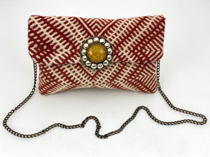 YELLOW STONE MOROCCAN BAG
